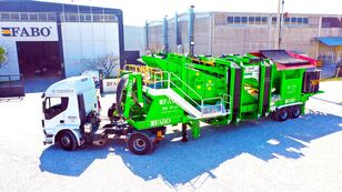 FABO ME 1645 SERIES MOBILE SAND SCREENING PLANT neuf