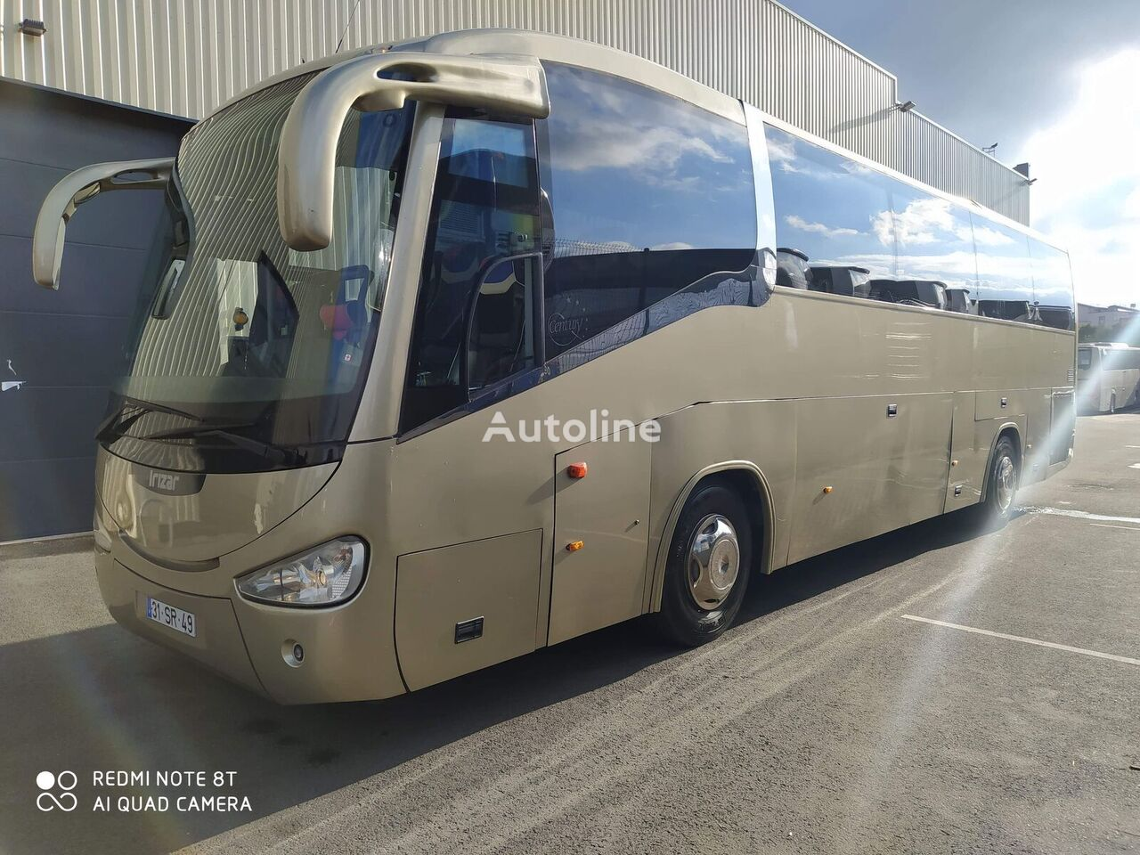 autocar de tourisme SCANIA Irizar Century