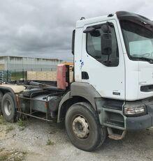 camion ampliroll RENAULT Kerax 420