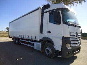 camion bâché MERCEDES-BENZ ACTROS 25 45