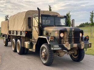 camion bâché AM General M35 series + remorque bâchée