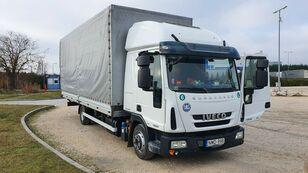camion bâché IVECO Eurocargo 75 E 19