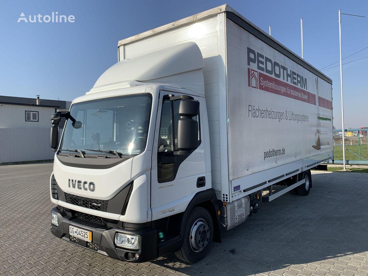 camion bâché IVECO Eurocargo 75E160