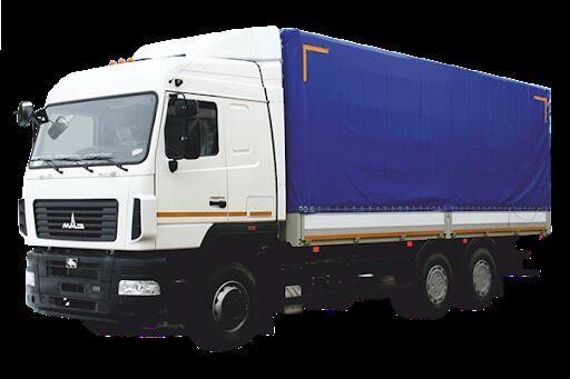 camion bâché MAZ 6312E8 neuf