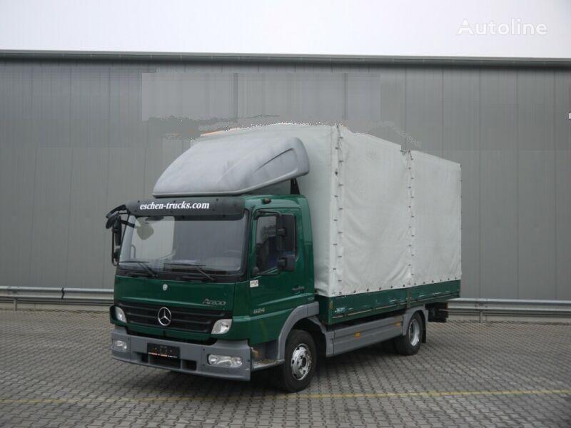 camion bâché MERCEDES-BENZ 824 L ATEGO 4X2 / EURO 5