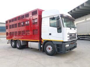 camion bétaillère IVECO 240E48 CURSOR ANIMALI VIVI