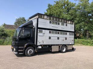 camion bétaillère MERCEDES-BENZ Axor Pezzaioli 1/2 stock Veewagen Hefdak