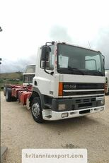 camion châssis DAF CF85 380 left hand drive manual pump 6X2 26 ton