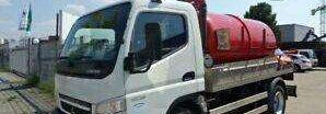 camion-citerne MITSUBISHI CANTER 7C15