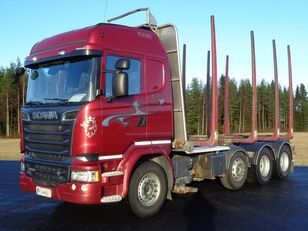 camion forestier SCANIA R 580