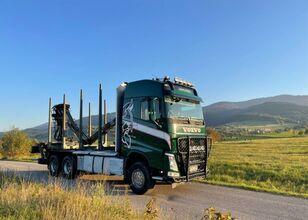 camion forestier VOLVO fh 540 euro 6 do drewna lasu kłody epsilon Loglift doll huttner