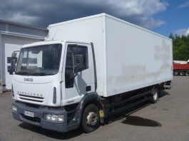 camion fourgon IVECO EuroCargo 120 E18