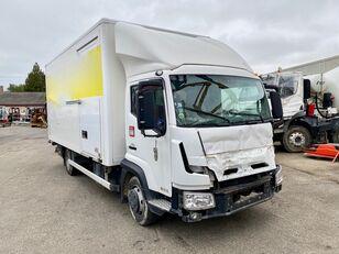 camion fourgon RENAULT D-CAB 180 endommagé