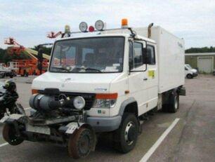 camion fourgon MERCEDES-BENZ 4x4 VARIO Schörling RAIL Two Way SchienenSERVICE