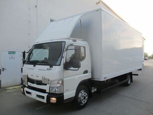 camion fourgon Mitsubishi Fuso Canter 7C18 endommagé