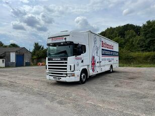 camion fourgon SCANIA 124