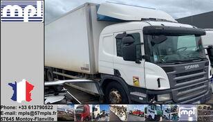 camion frigorifique SCANIA P340 endommagé