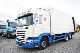 camion frigorifique SCANIA G490, Meat hooks , 19 EPAL