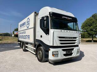 camion magasin IVECO STRALIS 450 motrice 3 assi telaio EURO 5