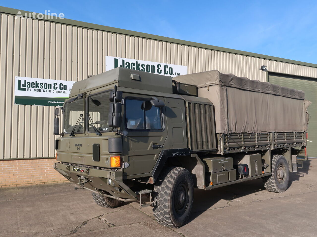 camion militaire MAN HX60 18.330 4x4 Army Truck
