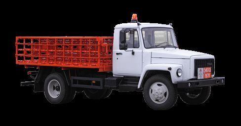 camion plateau GAZ KT-602-01 neuf