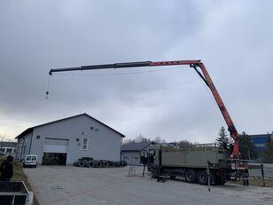camion plateau MAN TGA 26.480 Montagekran  Palfinger 25001 EL 6x4 Pilot selwinde 25