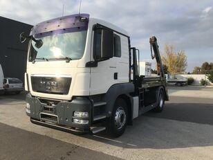 camion porte-conteneur KAMAZ TGS 18.440 EU5 HYVA LÁNCOS KONTÉNERES MANUAL