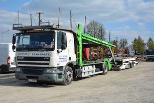 camion porte-voitures DAF CF 360 + remorque porte-voitures