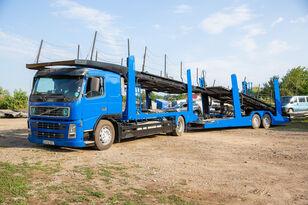 camion porte-voitures VOLVO FM 4x2 R + remorque porte-voitures