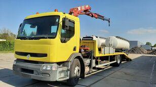 camion porte-voitures RENAULT Premium 250.19 Crane Winch