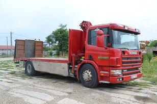 camion porte-voitures SCANIA 94D 220