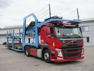 camion porte-voitures VOLVO FM13 460 Járműszállító csörlővel