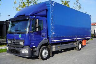 camion rideaux coulissants MERCEDES-BENZ Atego 1224L / Euro 6/18 europallets / 240 thousand. km!