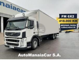 camion rideaux coulissants VOLVO FM 300 6X2 EURO5 418.000 KMS CX 9.80x2.42x2.35