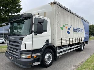 camion rideaux coulissants SCANIA P 230 + EURO 4 + LIFT + 8.20 METER BOX