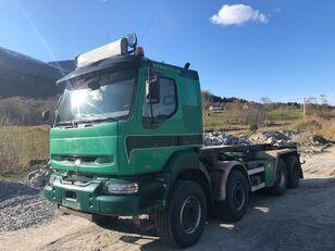 camion système de câble RENAULT KERAX 420 DCI, Manual Gearbox, Steel/Steel Suspension