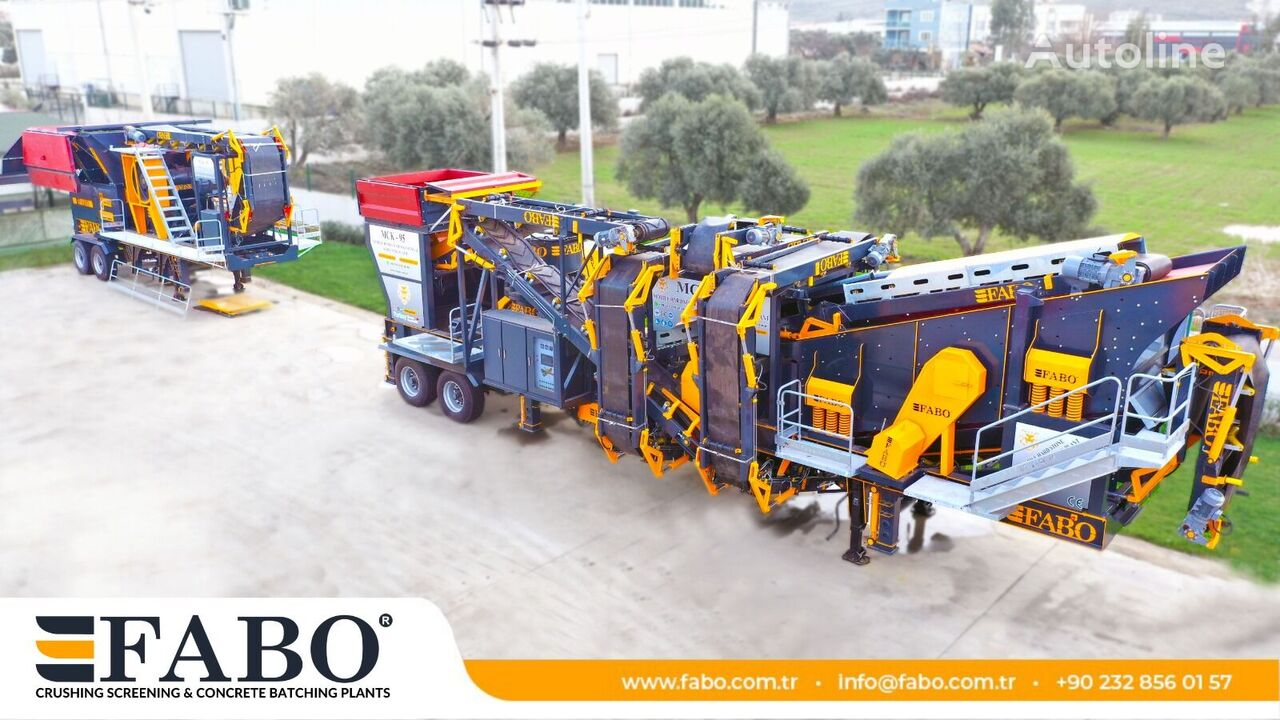 concasseur FABO MOBİLE HARD STONE CRUSHER BEST PRİCE MCK-95 neuf