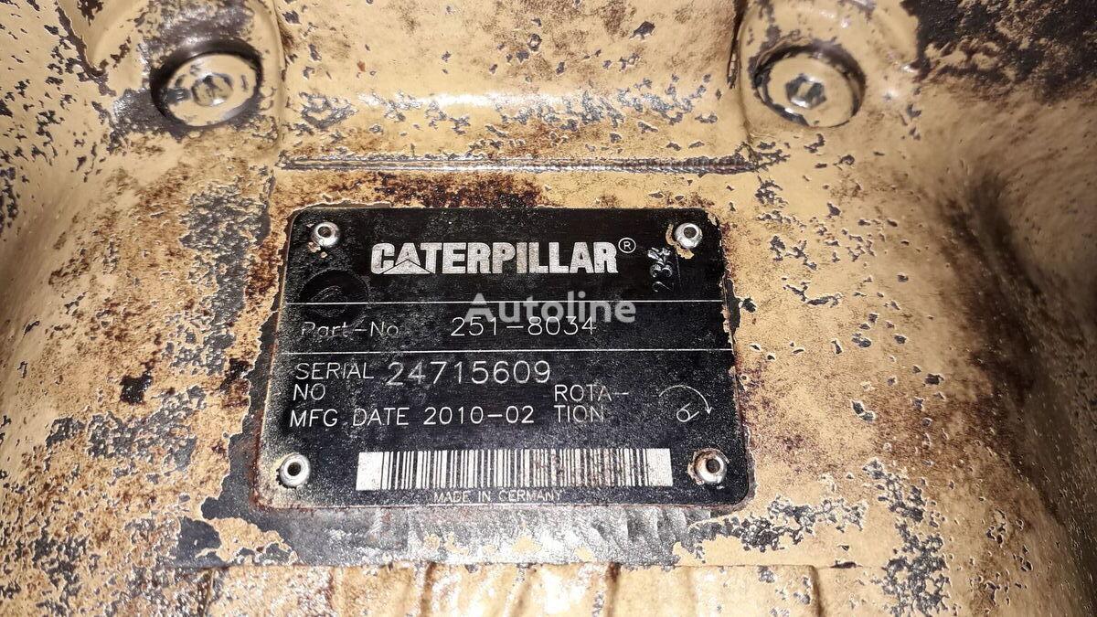 pompe hydraulique CATERPILLAR 251-8034 190-8199 pour excavateur CATERPILLAR 318D