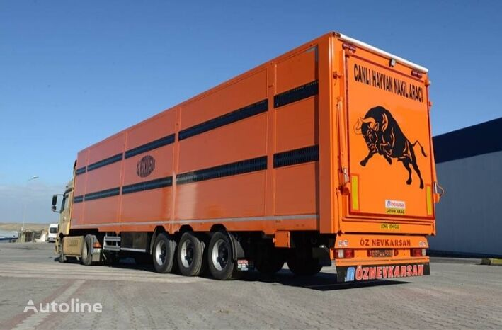semi-remorque bétaillère Livestock  Carrier LCBB2 neuve