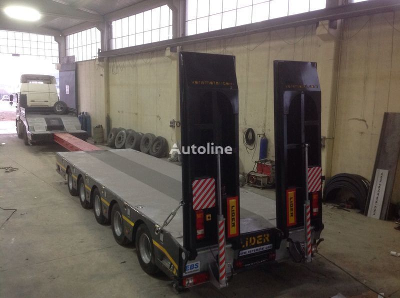 semi-remorque porte-engins LIDER NEW 2021 model new by manufacturer Ready in Stocks neuf